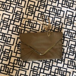 Gianni Bini Clutch with gold carry strap